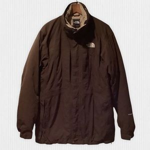 The North Face Brown Hyvent 500 Down Parka L